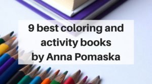 9 of the best kids coloring and activity books by Anna Pomaska   www.sahmplus.com
