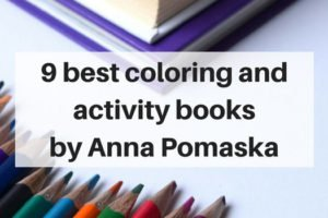 9 of the best kids coloring and activity books by Anna Pomaska | www.sahmplus.com