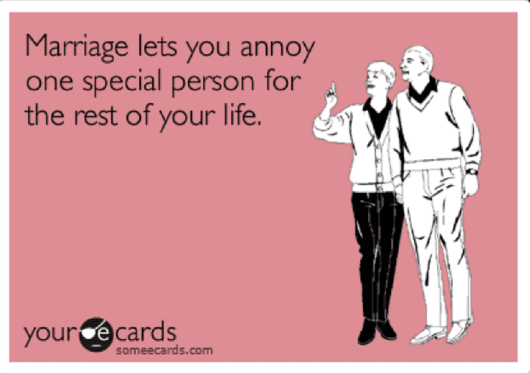 annoy one person the rest of your life