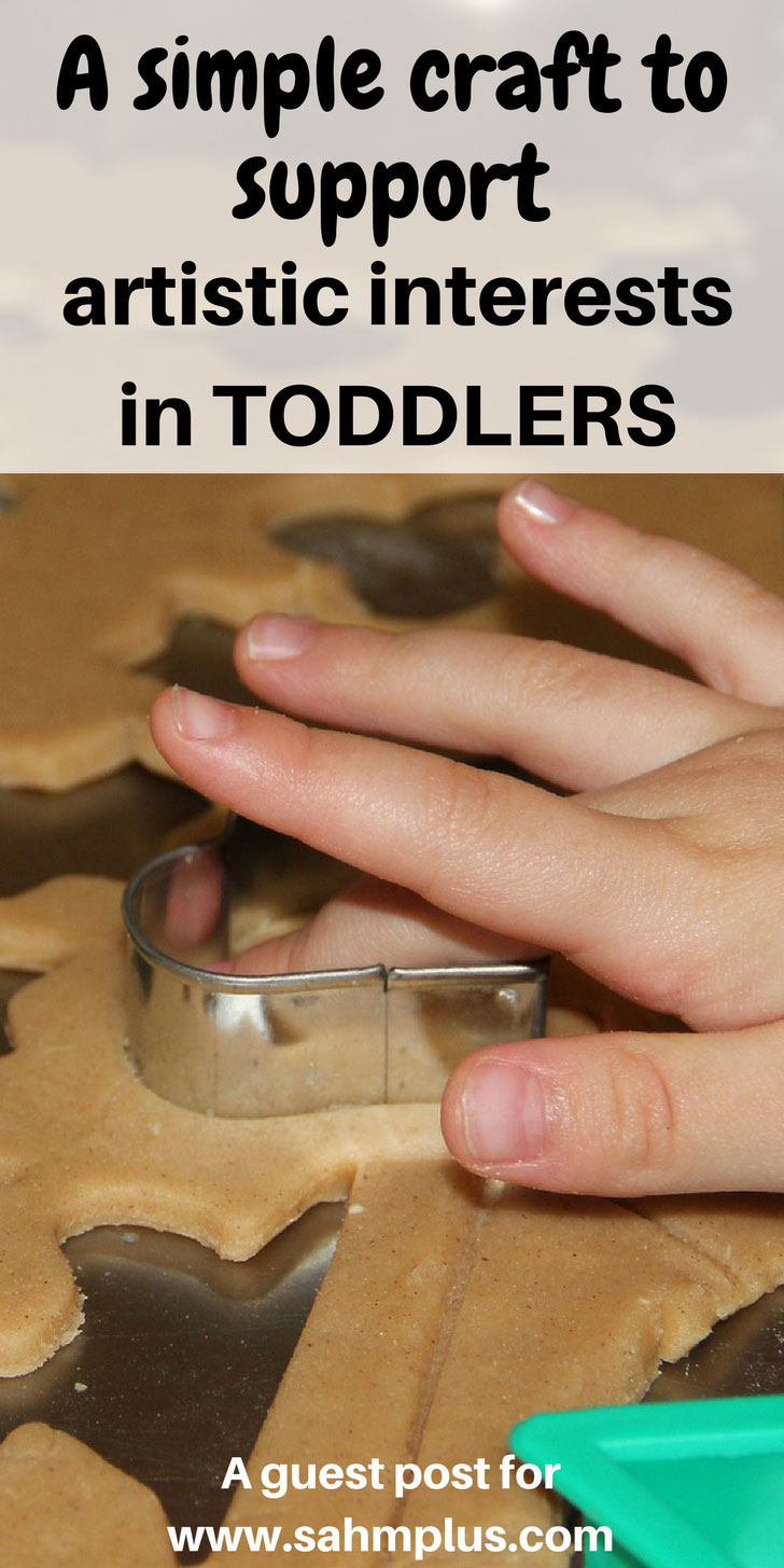 Encourage artistic interests in toddlers with this simple salt dough craft recipe - virtually limitless artistic possibilities for your little one | www.sahmplus.com