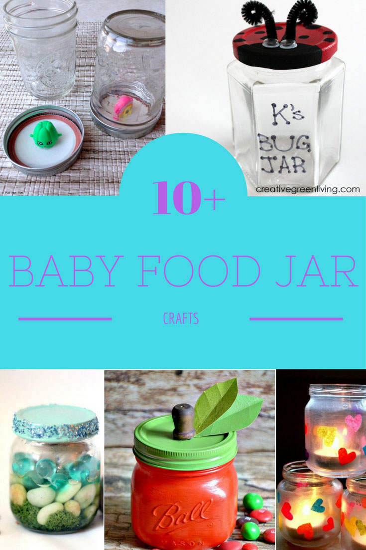 Crafts To Do With Glass Baby Food Jars
