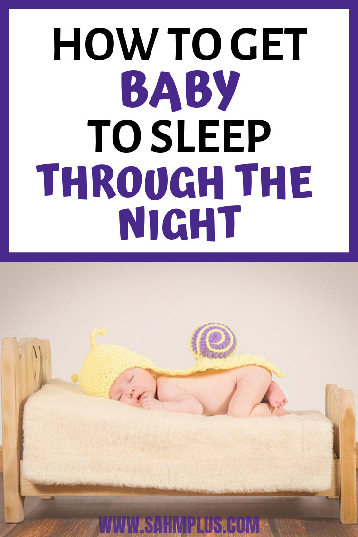 How to get baby to sleep through the night. 5 tips for dealing with night wakings and how to get babies to sleep in their own beds, through the night