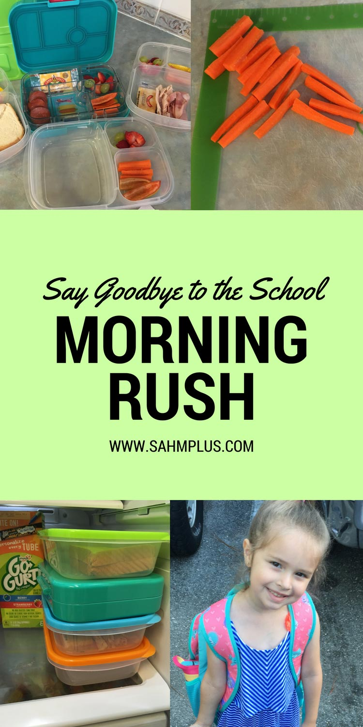 Dreading the school morning rush? Use these tips to eliminate some of the morning rush