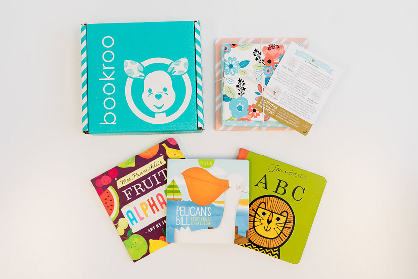BookRoo Board Book Subscription Box for 3 year old gift guide | sahmplus.com