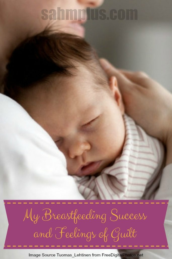 breastfeeding success guilt