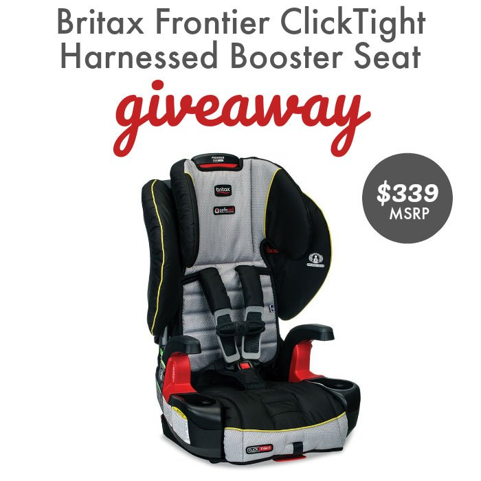 Britex Frontier ClickTight Harnessed Booster Seat Giveaway