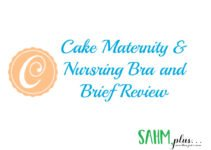 Cake Maternity Nursing Bra and Brief review cover image | sahmplus.com