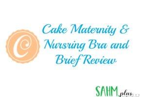 Cake Maternity Nursing Bra and Brief review cover image   sahmplus.com