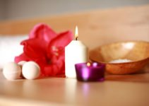 A candle or spa - 10 Holiday Gifts That Promote Self Care for Moms. A guest post for www.sahmplus.com