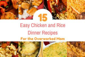 Easy chicken and rice dinners roundup featured image