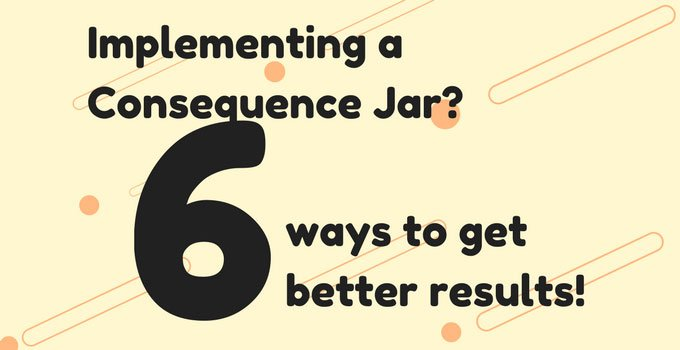 Getting better results when implementing a consequence jar