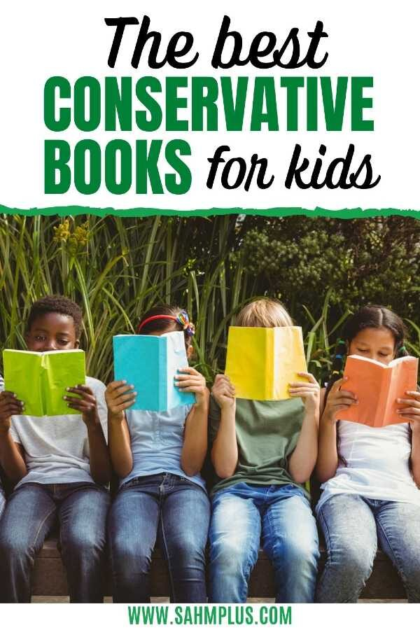Diverse group of children reading books
