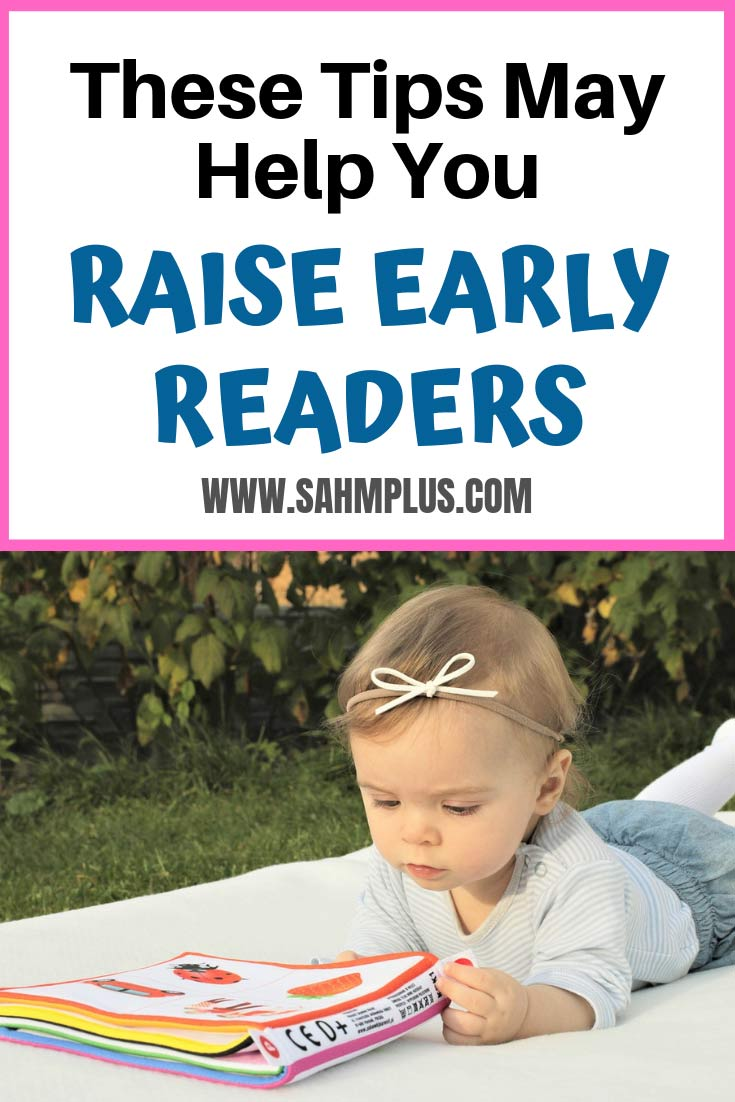 Develop reading skills in little kids with tips to help you raise early readers