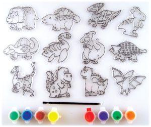 dinosaur suncatchers activity kit