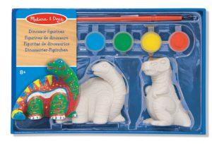 dinosaur painting figurines