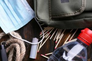 What emergency supplies do you need in your family disaster survival kit? Emergency preparedness tips for families | disaster preparedness | www.sahmplus.com