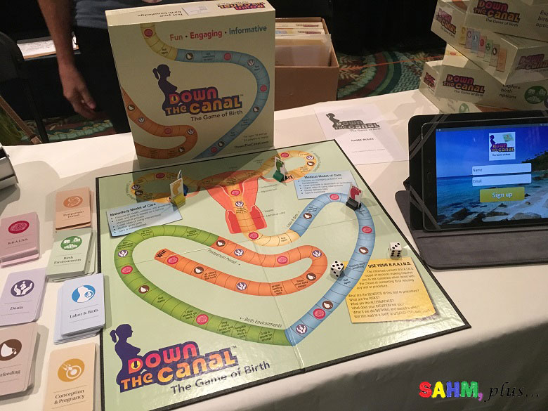 Down the Canal board game at MommyCon Orlando 2017 www.sahmplus.com