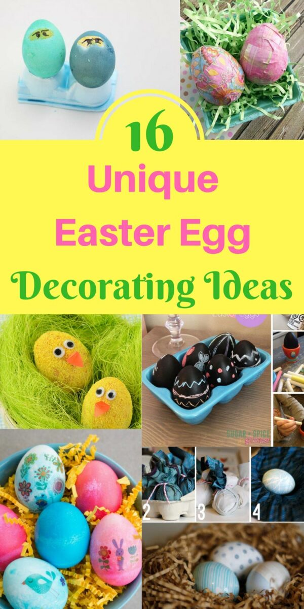 16 unique Easter egg decorating ideas for all ages