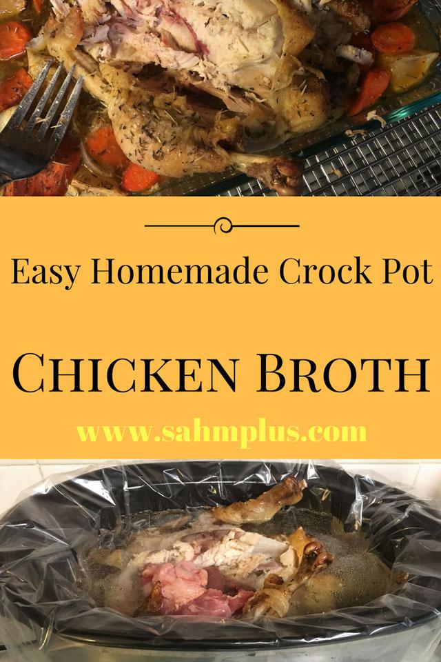 easy crock pot chicken broth recipe