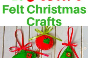 More than 25 festive Felt Christmas Crafts and projects for every skill and age to help you turn your home into a Felt Christmas Wonderland. | www.sahmplus.com