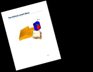 Free printable fun school lunch ideas for back to school season | www.sahmplus.com