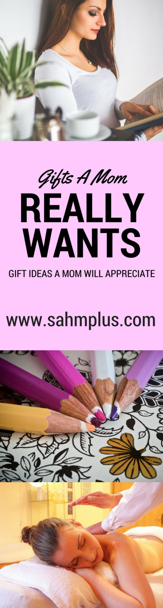 Gift ideas a mom will appreciate. Whether it's Mother's Day, Christmas, or Birthdays, give mom a gift she'll love