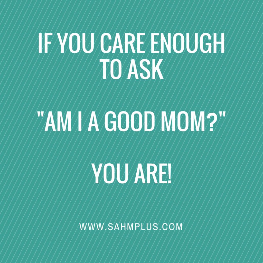 good mom quote