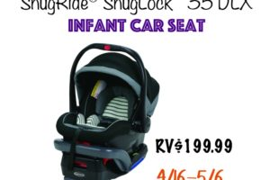 SnugRide SnugLock 35 DLX Infant Car Seat Giveaway button image