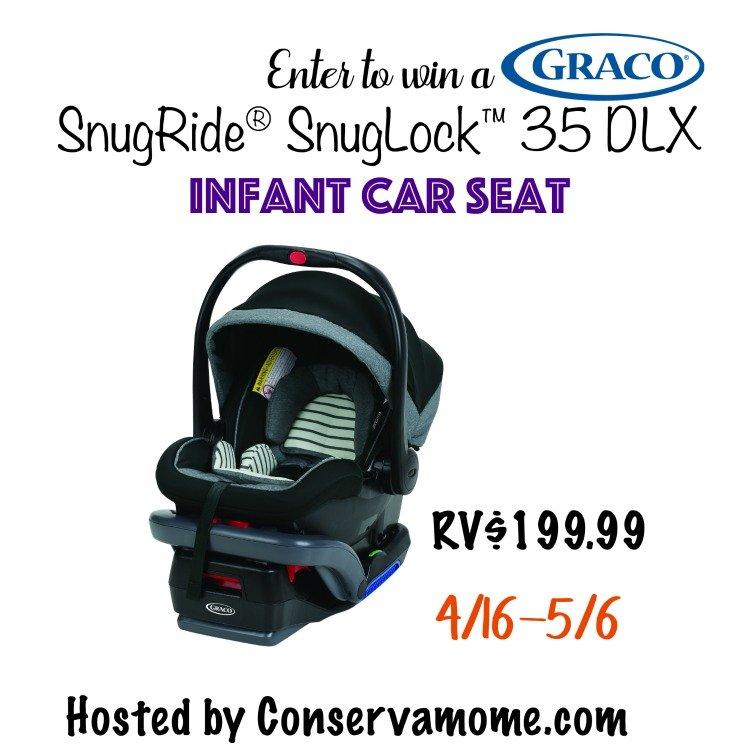 SnugRide SnugLock 35 DLX Infant Car Seat Giveaway button image