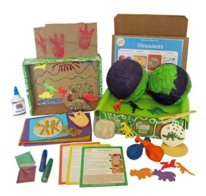 dinosaur science discovery from green kids crafts