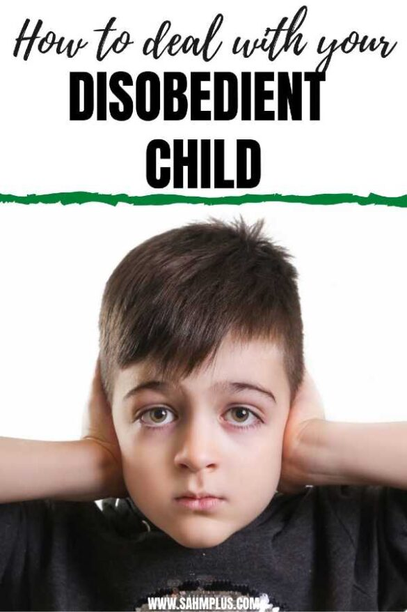 Child who doesn't listen. 5 tips on how to deal with a disobedient child.