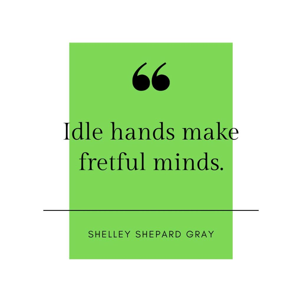 quote about idle hands