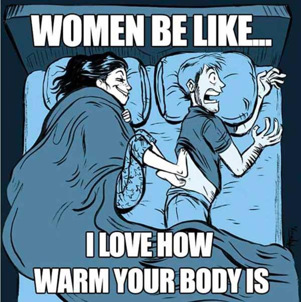 warm body marriage meme
