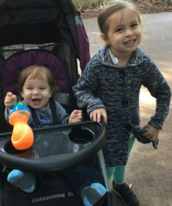 My two happy kids at the jacksonville zoo