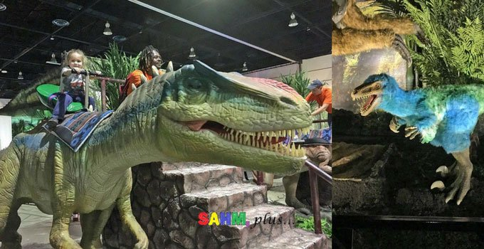 Jurassic Quest Jacksonville, FL review from SAHM, plus...