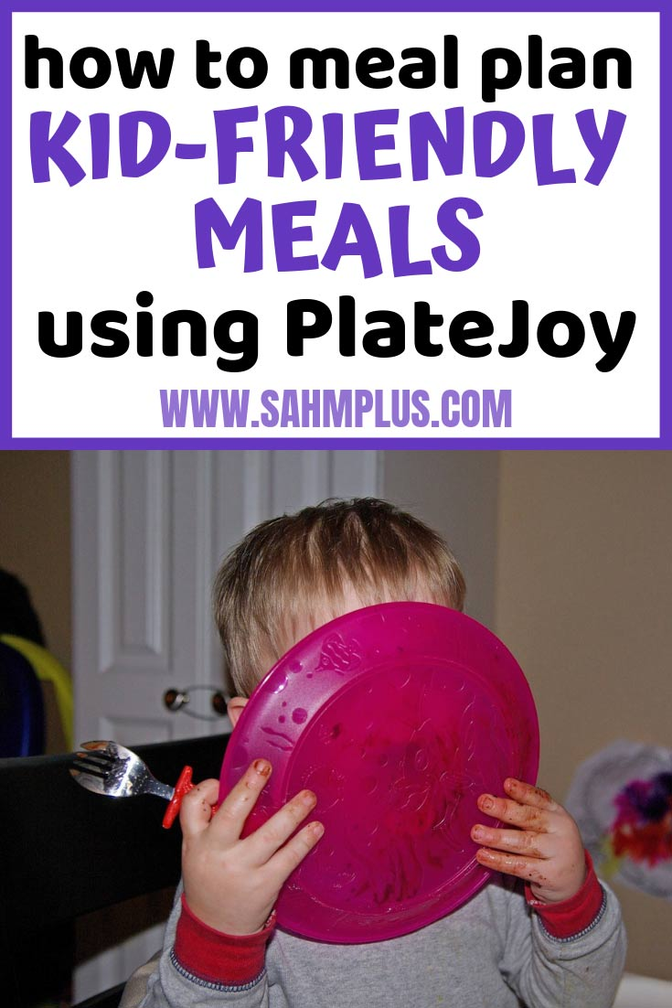 How to plan kid-friendly meals from PlateJoy. Children picky eaters? Make meal planning fun and easy by using PlateJoy