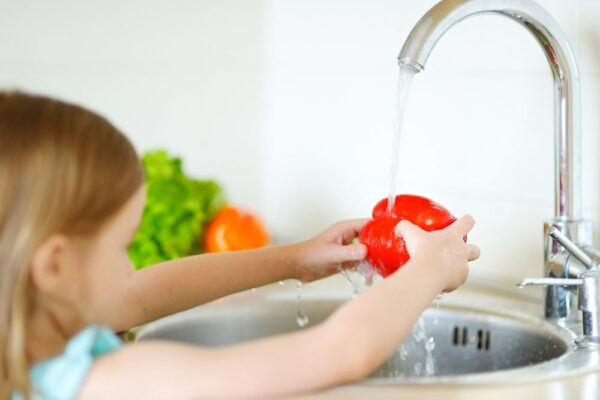 Teaching kids healthy habits and food safety