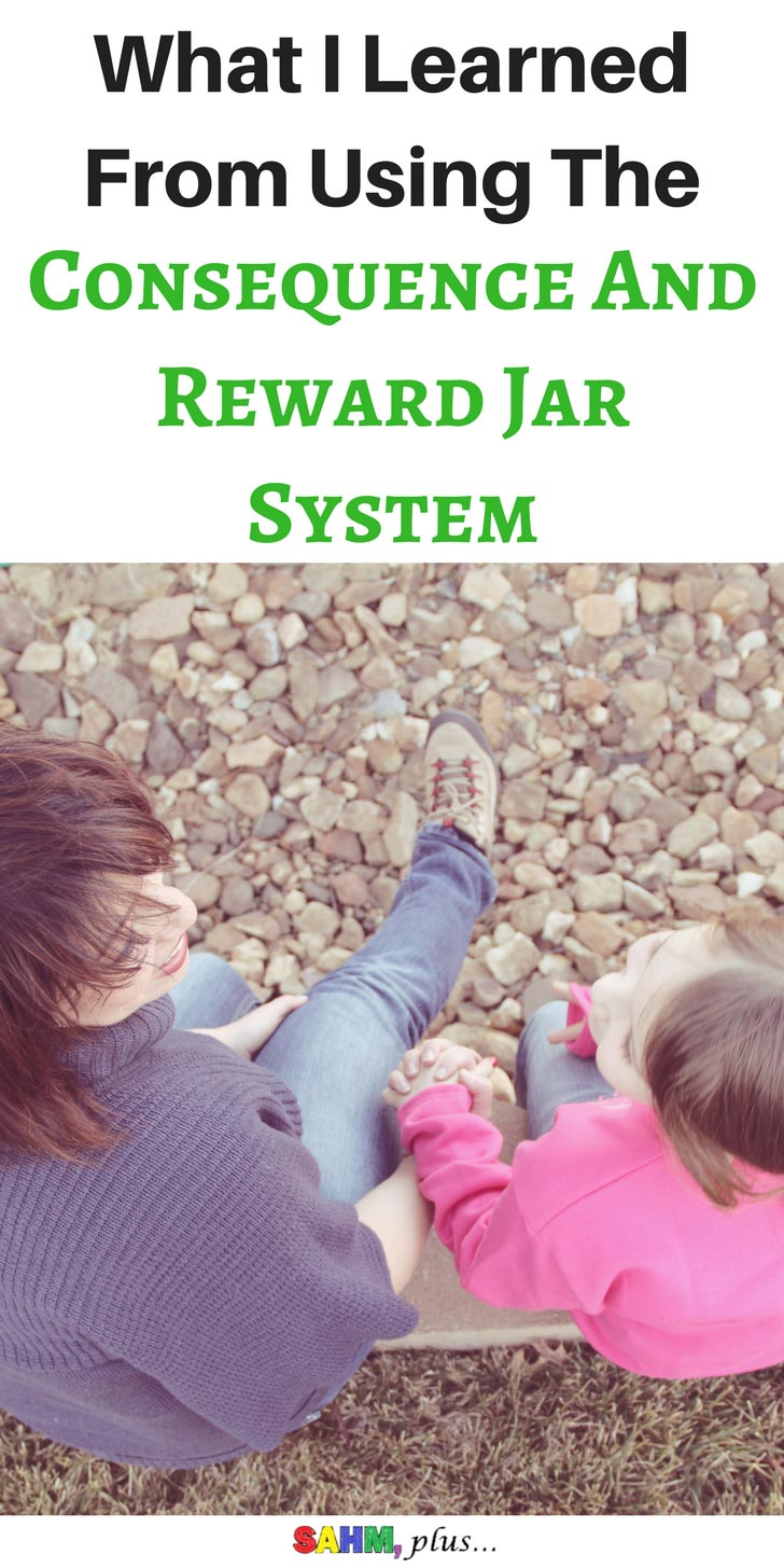 Does a parent's mood affect a child's behavior? What I learned from the consequence and reward jar system   www.sahmplus.com