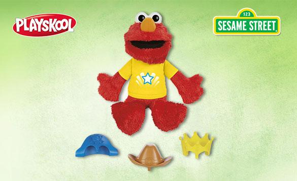 Let's Imagine Elmo toy stock image