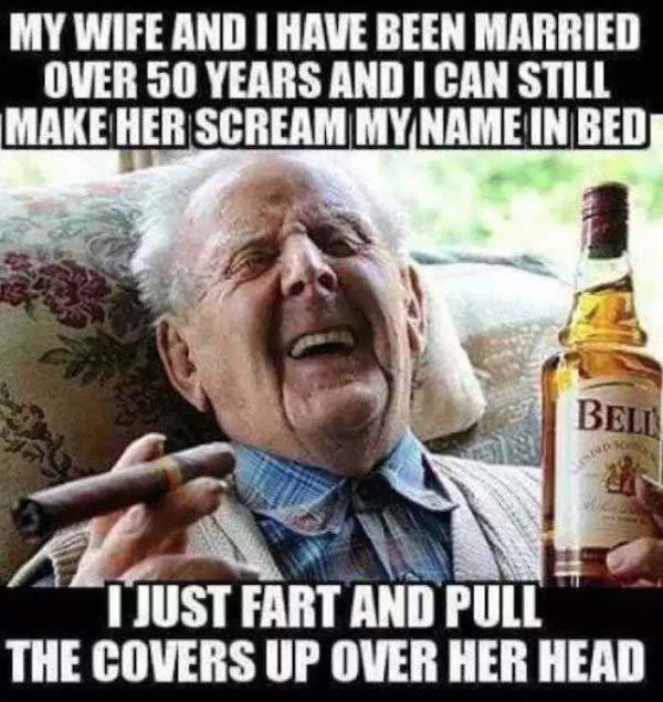 make her scream my name marriage meme