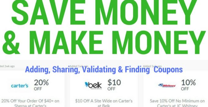 Save money (or make money) as a Dealspotr coupon member. I show you show to do both.