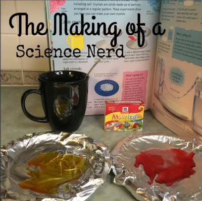 making a science nerd