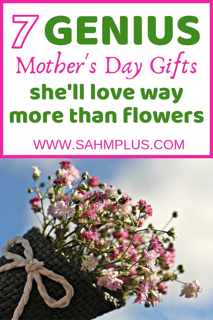 7 genius Mother's Day gift ideas. Mother's day gifts that show her you care better than flowers! These presents are sure to please