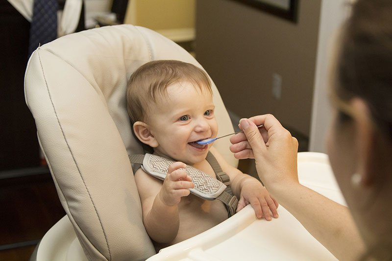 Dispelling Baby Myths for First Time Moms - feeding baby allergenic foods