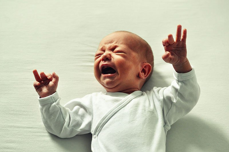 Dispelling Baby Myths for First Time Moms - baby and excessive crying