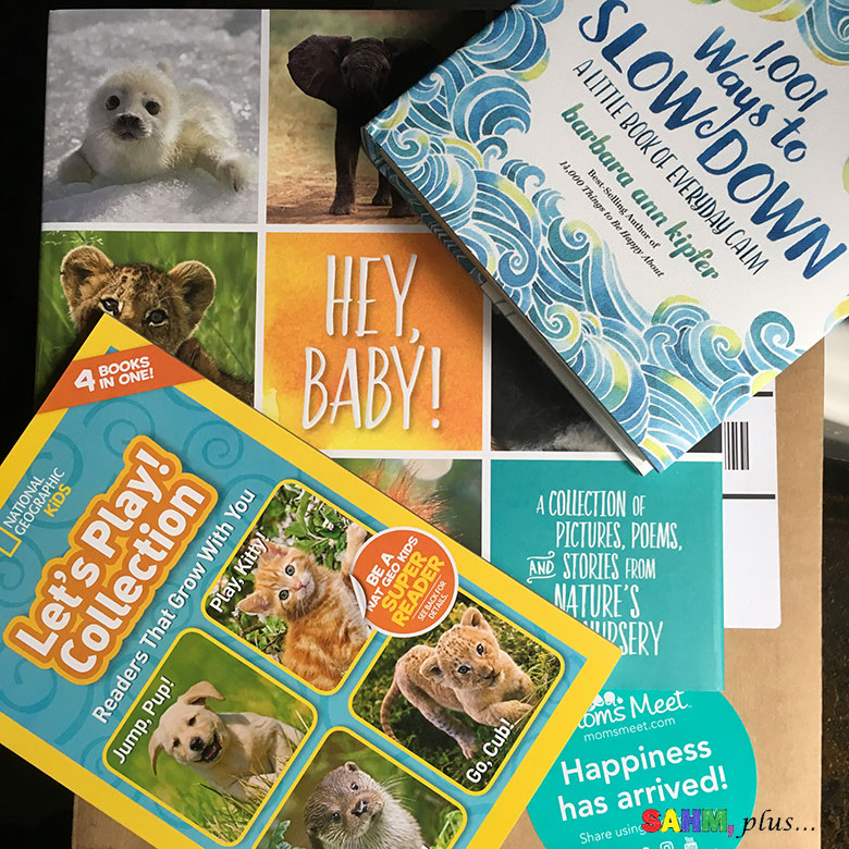 National Geographic Kids #MomsMeet program for Hey, Baby! an adorable and informative book about baby animals | www.sahmplus.com