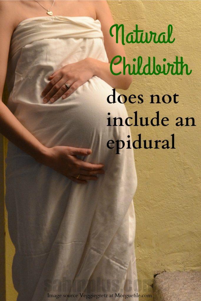natural childbirth no epidural