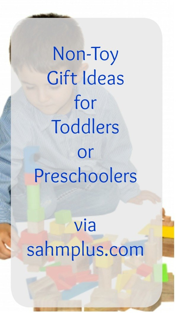 non-toy gifts for children toddlers preschoolers