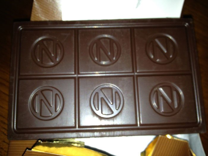 open chocolate bar newman's own organics review