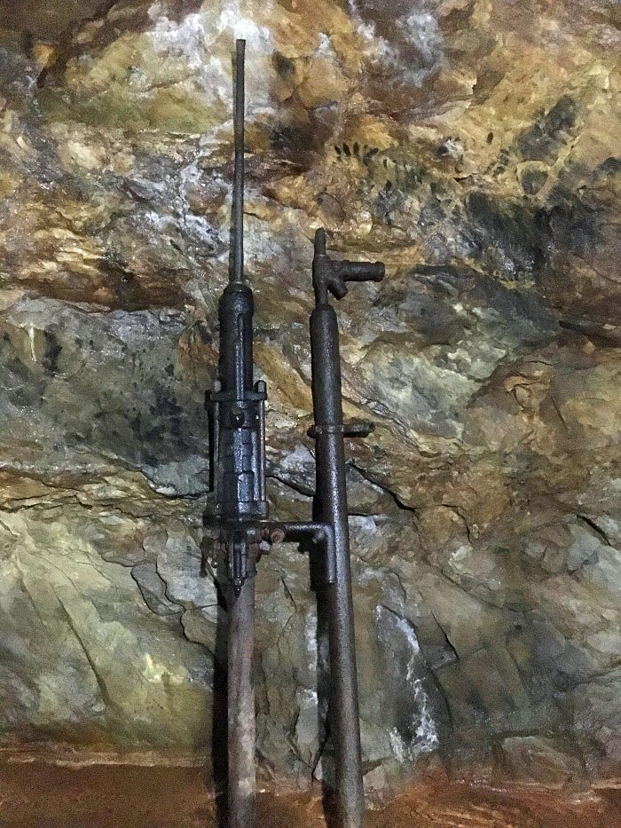 A sampling of old mining tools at Consolidated Gold Mine underground mine tour | Gold Fever Package | Dahlonega, GA